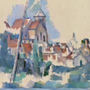 Church At Montigny Sur Loing, 1898  Art Print