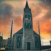 Church Of Days Past Art Print