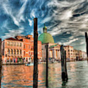 Church Of San Simeone Piccolo, Venice Art Print