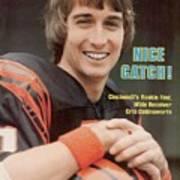 Cincinnati Bengals Chris Collinsworth Sports Illustrated Cover Art Print