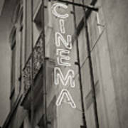 Cinéma De Quartier Art Print