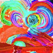 Circle Time Art Print