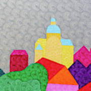 City 1 Art Print