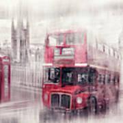 City-art London Westminster Collage II Art Print