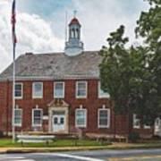 City Hall - Shelby, North Carolina Art Print