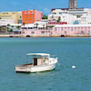 City Of Hamilton Bermuda Art Print