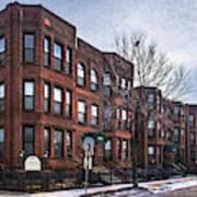Cityview Cooperative, Minneapolis Art Print