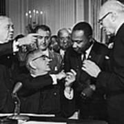 Civil Rights Bill Art Print