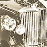 Classic Car Chrome Art Print