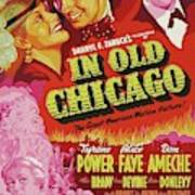 Classic Movie Poster - In Old Chicago Art Print