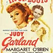 Classic Movie Poster - Meet Me In St. Louis Art Print