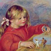 Claude Renoir At Play Art Print