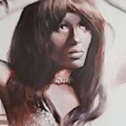 Claudia Lennear.brown Sugar.lady Grinning Soul Art Print
