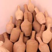 Clay Jars Art Print