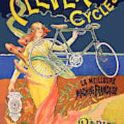 Clever Cycles Art Print