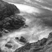 Cliffs Down Under Art Print