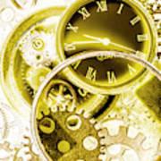 Clock Watches Art Print