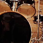 Close-up Of A Drum Kit Art Print