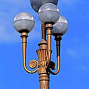 Closeup Of A Lamp Art Print