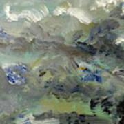 Clouds Before Rain In Summer Art Print