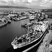 Clydeside Port Art Print