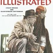 Coach Brown And Quarterback Ratterman Can They Keep Sports Illustrated Cover Art Print