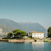 Coast Of Como Art Print