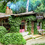 Cold Springs Tavern The Dining Room Art Print