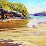 Collins Beach Sydney Art Print