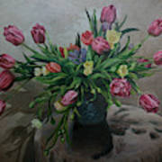 Color Of Natureoil Art Print