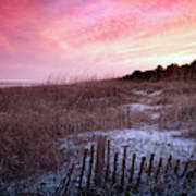 Color Over The Dunes Art Print