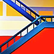 Colorful Climb Art Print