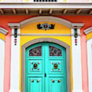 Colorful Door Art Print