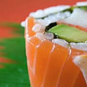 Colorful Sushi Art Print