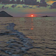 Colors Of The Sunrise Art Print