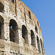 Colosseum Detail Art Print