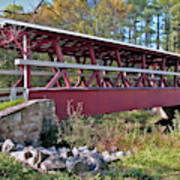 Colvin Covered Bridge Art Print
