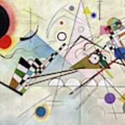 Composition 8 - Komposition 8 Art Print