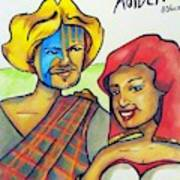 Connla and the fairy maiden 1060ce Art Print