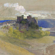 Conway Castle - Digital Remastered Edition Art Print