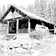 Coolidge Ghost Town Montana Art Print