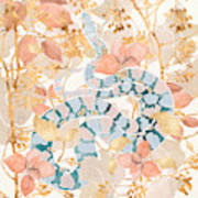 Coral Spring Garden Art Print