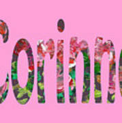 Corinne Art Print