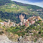 Corniglia View Art Print