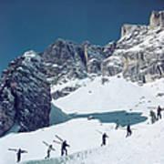 Cortina Dampezzo Art Print