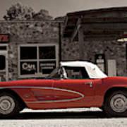Corvette Cafe - C1 Art Print