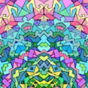 Cosmic Lock Art Print