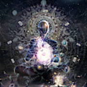 Cosmic Ritual Art Print