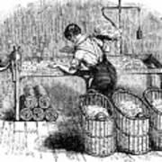 Cotton Manufacture, C1845 Art Print