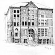 Courthouse Helena Montana Art Print
